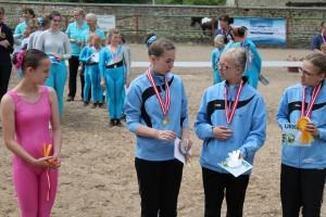Kreismeisterschaft Voltigieren im Landkreis Harz